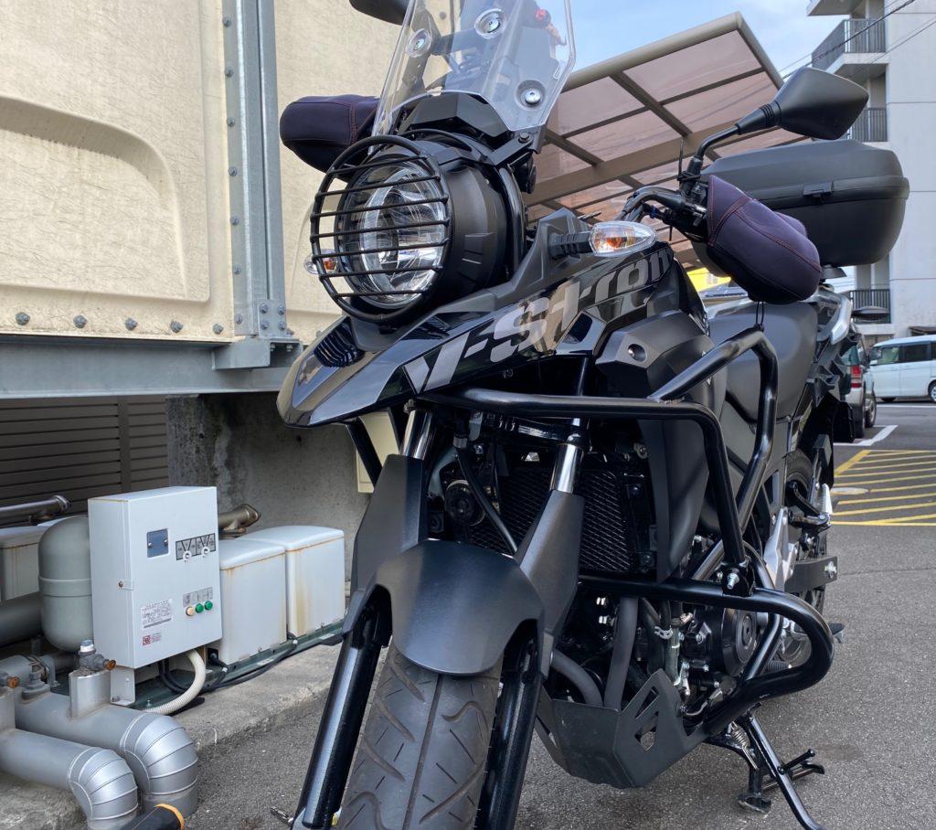 V ストローム 250 エンジン ガード